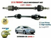 FOR CITROEN C5 1.6HDi 110 1.8 2.0 2008-> NEW 2X FRONT AXLE LEFT RIGHT DRIVESHAFT
