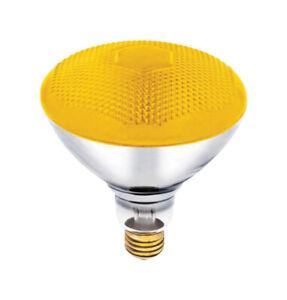 Westinghouse  Bug Light  100 watts E26  Incandescent Bulb  Yellow  Floodlight