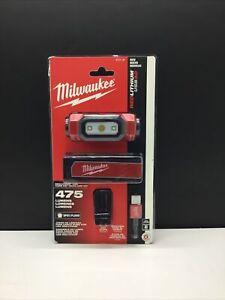 Milwaukee 475-Lumen LED Rechargeable Hard Hat Headlamp Kit