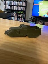 Vintage Midgetoy Military Carrier Green Metal Rockford IL