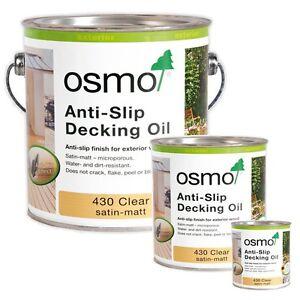430 OSMO CLEAR EXTERIOR ANTI SLIP DECKING OIL 2.5L (ATC7)