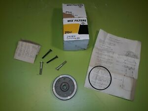 Oil Filter Conversion Kit 24061 Wix  Chevrolet V-8 Conversion Kit