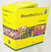 ROSETTA STONE 31604 Version 4 Italian Audio Companion Level 1-5 2010 2 CDs ONLY