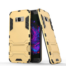 GOLD Slim Armor Shell Hybrid Hard Back Case Cover For Samsung Galaxy S8