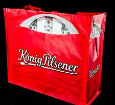König Pilsener Bier, XXL Beach-Bag, Strandtasche, lange Griffe zum Humhängen