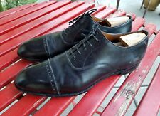 Edward Green [12 ?] cap toe Oxford lace-up shoes made in England