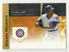 2012 Topps Series 1 Golden Moments - #8 - Andre Dawson - Chicago Cubs