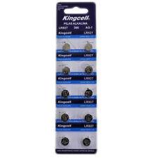 10x Blister 100x Pila Bateria Kingcell AG-7 Original 395 LR927 1.55V Pila Boton