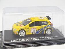 Prensa Ixo 1/43 - Fiat Punto S1600 Rallye Monte Carlo 2003