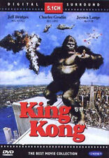 King Kong (1976) Jeff Bridges, Charles Grodin DVD *NEW