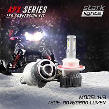 Stark APX Snowmobile LED Bulbs 90W 9600LM 6000K Headlight Kit Hi / Lo Dual - H13