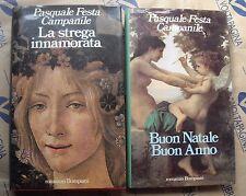 """LOTTO 2 ROMANZI """"LA STREGA INNAMORATA - BUON NATALE, BUON ANNO"""" - P.F. CAMPANILE"""