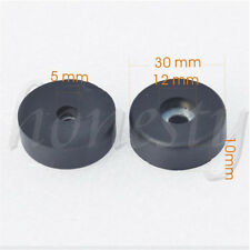 2Pcs Rubber Bumpers Embedded Washer Feet Pad Instrument Speaker Holder 30mmX10mm