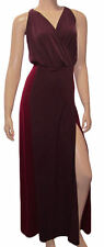Victoria's Secret Maxi Dress Burgundy Jersey M New $98
