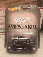 2015 Retro Hot Wheels James Bond A View to Kill '80s Corvette