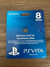 Sony Playstation PS Vita 8GB Memory Card *New & Sealed*