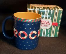 Radio City Rockettes Coffee Mug Christmas Spectacular Navy + Gold 12 Days Mint