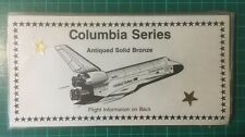 More details for columbia series space shuttle medals
