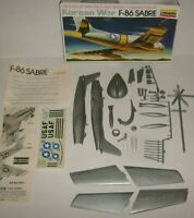 North American F-86A Sabre 1/48 Plastic Model Kit Lindberg New