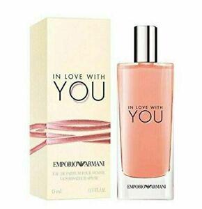 Giorgio Armani Emporio Armani In Love With You eau de Parfum New ! 0.5 oz