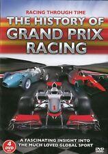 History of Grand Prix Racing Through Time 4 DVD Set Lotus Circuits Jaguar More