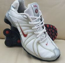 NIKE SHOX TURBO SILVER/WHITE TRAINERS/SHOES (2005) ADULT/MENS/BOYS SIZE 7.5 UK