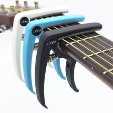 Guitar Capo Plastic Electric Acoustic Quick Clamp Change Classic String Tuning