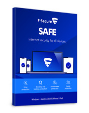 ✅ F-Secure SAFE  Internet Security 2021 1 year ✅ 2 Devices  Full Version ✅ .