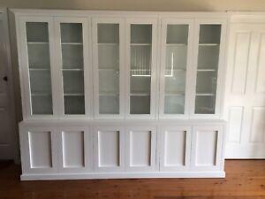 """Kent 3.0"" Integrated Wall Unit Bookshelf Cupboard Living Room Furniture"