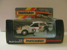 Matchbox - SuperKing - K-95 Audi Quattro - Damaged Box