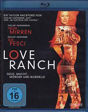 Love Ranch Geld Macht Mörder und Bordelle Blu-ray neuwertig