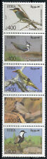 Syria 2018 MNH Birds Bee-Eaters Lapwings Orioles 5v Strip Bird Stamps