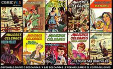MUJERES CELEBRES   (NOVARO) 152 COMICS DIGITALES MEXICAN COMICS