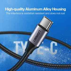 UGREEN USB Type C Cable for Xiaomi Samsung S21 S20 USB C Cable 3A Fast Charging