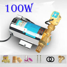 Miniature Automatic 100W Domestic Shower Pressure Water Booster Stainless Pump