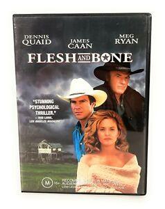 Flesh And Bone (DVD, 1993) Dennis Quaid Region 4 Free Postage