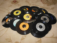 "LOT OF 100 45 RPM 7"" SINGLE RECORDS LOT ROCK,POP,COUNTRY,JAZZ  FREE SHIPPING"