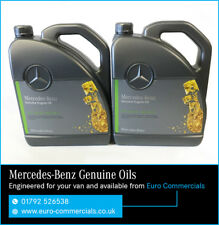10L Genuine Mercedes Benz 10w40 Low Ash Engine Oil Sprinter Fully Synthetic