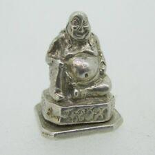 Bottom Opening Budha Hindu Sterling Silver Pendant Charm