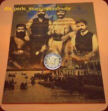2€ Gedenkmünze Griechenland 2013- Coincard - Beitritts Kretas zu Griechenland BU