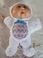 "Cabbage Patch Kids Easter Bunny Rabbit Plush 9"" Baby CPK Jakks 2013 Cute RARE"