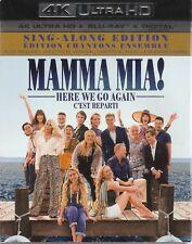 MAMMA MIA! HERE WE GO AGAIN 4K ULTRA HD & BLURAY & DIGITAL SET with Meryl Streep