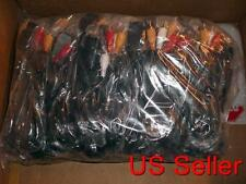 50 NEW  AV Video Audio Cable For Sony Playstation 2,3 PS1 PS2