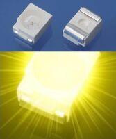 S183 - 100 Stück SMD LED PLCC-2 3528 gelb LEDs 1210 yellow