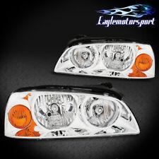 For 2004 2005 2006 Hyundai Elantra Chrome Factory Style Replacment Headlights