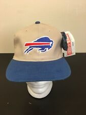 Vintage American Needle Buffalo Bills Blockhead Snapback Hat NWT 90's