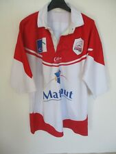 Maillot rugby TARBES PYRENEES Cotton Traders shirt vintage L