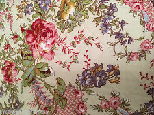 SIMPLY SHABBY COTTAGE GYPSY CHIC PATCHWORK GORGEOUS COLORS QUEEN QUILT ONLY NEW!