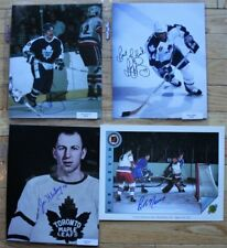 4 Signed LA Kings NHL 8x10 Photos  Anderson, Bradley, Klukay, Nevin   FREE SHIP