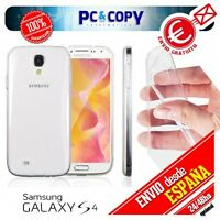 Funda gel TPU flexible 100% transparent para SAMSUNG Galaxy S4 GT-I9500-GT-I9505